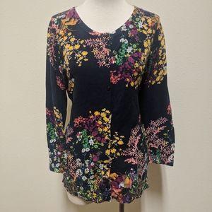 Merrona xl button front sweater
